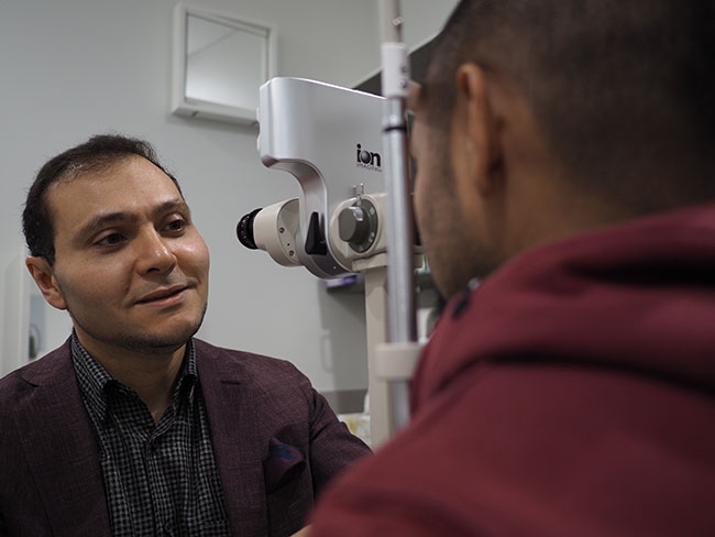 Fellowship Trained Ophthalmologist
