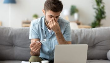 Protecting Your Eyes While Working at Home